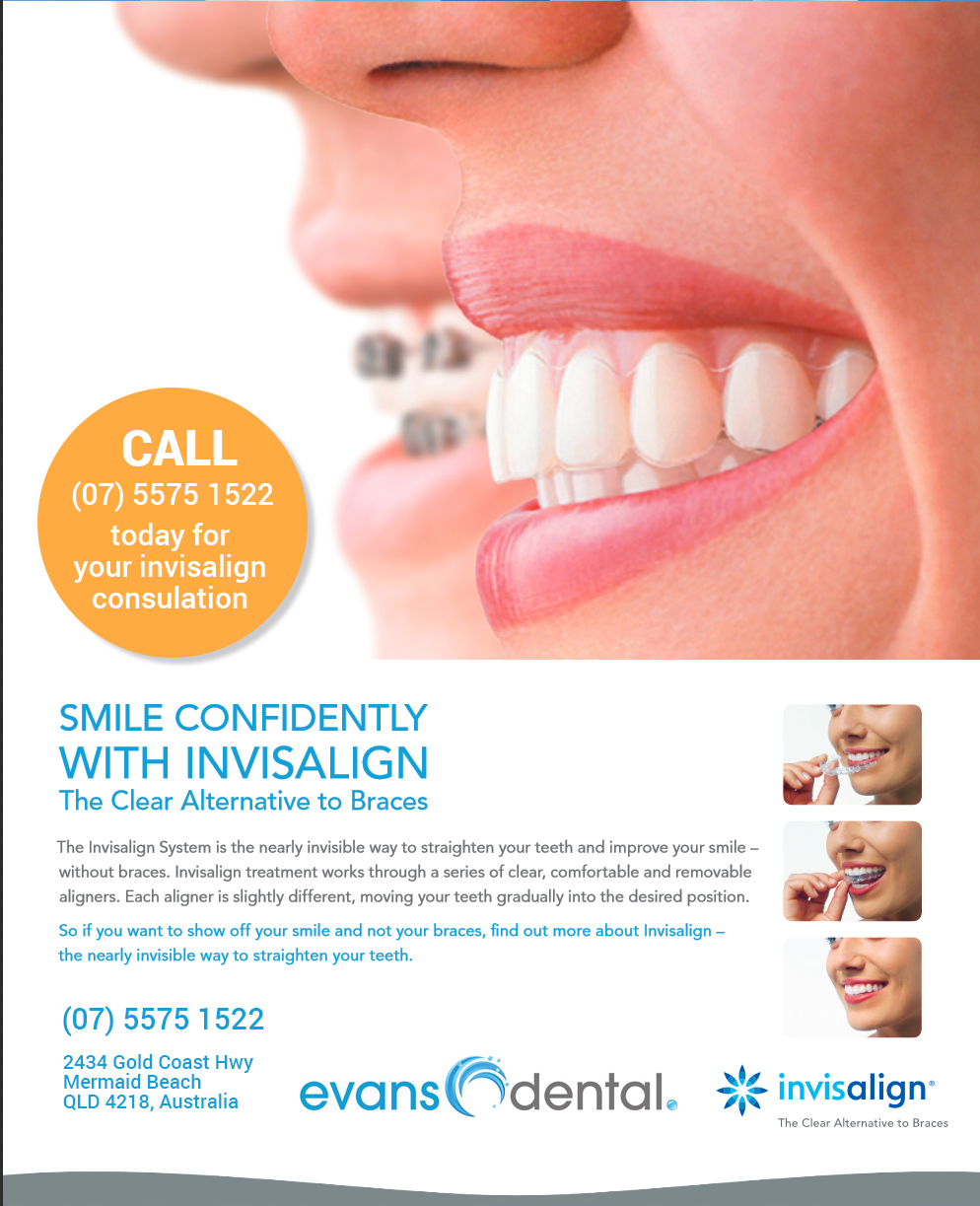 invisalign information at evans dental